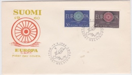 Finland-1960 Europa First Day Cover - FDC