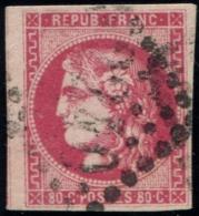 Lot N°845 France N°49 Oblitéré Qualité TB - 1870 Emission De Bordeaux