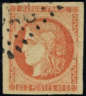 Lot N°829 France N°48h Oblitéré Qualité TB - 1870 Emission De Bordeaux