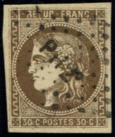 Lot N°773 France N°47 Oblitéré Qualité TB - 1870 Emission De Bordeaux