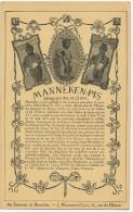 Bruxelles  Manneken Pis Rue De L Etuve Edit J. Blommaert  1919 19 Eme  Regiment Chasseurs Alpins - Belgium