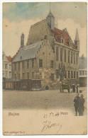 Malines Mechelen Le Musée No 5 Colorisée Timbrée 1903 Vers Avillers Par Hivry Circourt Meurthe Et Moselle - Malines