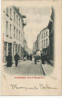Charleroi Rue De Dampremy  Edit Bertrand  Timbrée Vers Hesdin 1900 - Charleroi