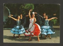 Postcard 1960s SPAIN ESPAÑA ESPANA ANDALUCIA FLAMENCO DANCE BALLET DE PEPITA IBARS  FOLK FOLKLORE MUSIC DANCE DANCA - Europa