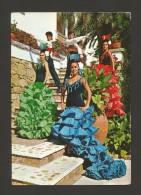 Postcard 1960s SPAIN ESPAÑA ESPANA ANDALUCIA FLAMENCO DANCE BALLET DE LUIS PRÍNCIPE  FOLK FOLKLORE MUSIC DANCE DANCA - Europa