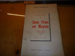 CB6 LC121 Théatre Wallon Henri Tournelle Quaregnon Emm Fème Est Mayeur - Editeur Jemmapes - Théâtre