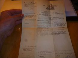 CB6 LC121 Pro Justitia Brigade De Bruxelles II Dt 1958 - Dokumente