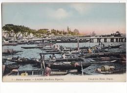 Native Canoes - LAGOS / Southern Nigeria / Comptoir Henri Dupuy - Nigeria