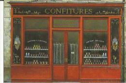 Carte Glacée D'un Magasin De Confitures (André-Renoux _Paris - Magasins