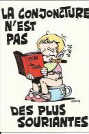 Carte De ( La Conjoncture N'est Pas Des Plus Souriantes )  Lacan ..les Ecrits - Humour