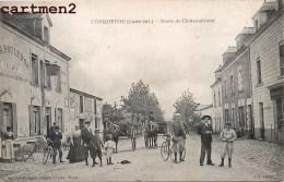 CARQUEFOU ROUTE DE CHATEAUBRIANT TRES ANIMEE HOTEL A LA BOULE D'OR 44 - Carquefou