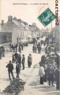 BEAUMONT-HAGUE LE CENTRE DU BOURG MARCHE 50 MANCHE - Beaumont