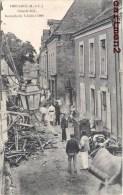 THOUARCE GRANDE RUE INCENDIE DU 6 JUILLET 1908 CATASTROPHE 49 - Thouarce