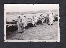 Photo Originale - Maroc -  Rabat - Les Passeurs De L' Oued - Fleuve Bouregreg  (1941 ) - Afrique