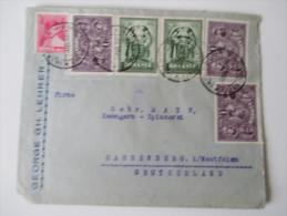 Rumänien Bedarfsbeleg 1929 MiF. Ausgabe 10. Jahrestag Vereinigung Siebenbürgen - Rumänien - Covers & Documents