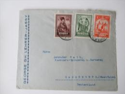 Rumänien Bedarfsbeleg 1929 MiF. Ausgabe 10. Jahrestag Vereinigung Siebenbürgen - Rumänien. - Covers & Documents