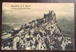 SAN MARINO  - LA ROCCA DELL'ORRIDO RIFIUTO - EDITORE A.REFFI - Saint-Marin