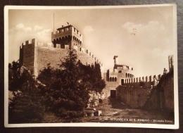 SAN MARINO  - SECONDA TORRE FOTOGRAFICA EDITORE  M. SANORETTI - VIAGGIATA 1942 - San Marino