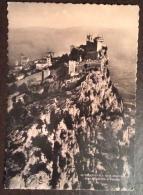 SAN MARINO - ROCCA BASILICA E PALAZZO - VIAGGIATA  1942 - San Marino