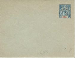 Entier Postal EN 3 - Great Comoro Island (1897-1912)