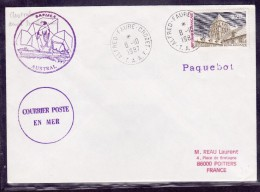 T.A.A.F. - Lettre - Terres Australes Et Antarctiques Françaises (TAAF)
