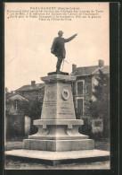 CPA Paulhaguet, Monument élevé Par Le 44. Section Des Vétérans Des Armées De Terre - Frankrijk