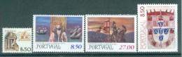 PORTUGAL - Mi 1536/1539 - MNH** - Cote 5,30 € - 1910-... République