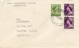 E309 Brief Australien Antarctic N. Grafton - 1952-65 Elizabeth II : Pre-Decimals
