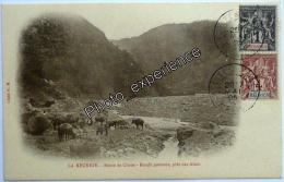CPA Carte Postale Timbre Stamp Paysage 1905 CILAOS La Réunion 974 - La Réunion