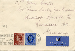E310 Brief Großbritannien Playmont N. Castrop Rauxel 1937 - Briefe U. Dokumente