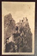 SAN MARINO -LA ROCCA VISTA DALLA SECONDA TORRE   - VIAGGIATA 1928 - EDITORE A.REFFI - San Marino