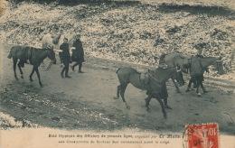 """MILITARIA - REGIMENTS - Raid Hippique Des Officiers De Seconde Ligne, Organisé Par Le Journal """"LE MATIN"""" - Régiments"""