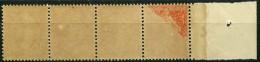 France (1907) N 138 ** (Luxe) Recto Verso Partiel - Ungebraucht