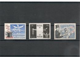 MONACO Année 1989/94/96 Arts Du Cirque: Magie  N°Y/T: 1678-1933-2027** - Collections, Lots & Series