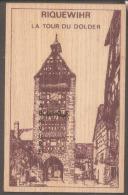 GRAVURE SUR BOIS--68 -RIQUEWIHR--La Tour Du Dolder---- - Cartes Postales