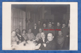 CPA Photo - GRUNBERG In SCHLESIEN / ZIELONA GORA - Repas De Militaire Allemand Et Civil - Erwald Hase Photograph - Polen