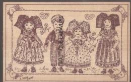 GRAVURE SUR BOIS--68 --L´Alsace Merveilleuse- - Cartes Postales