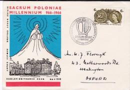 Millenary Of Christianity Of Poland / Sacrum Poloniae Millennium, Henley-on-Thames Oxon - Celebrations
