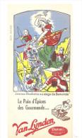 Buvard VAN LYNDEN Le Pain D'épices Des Gourmands... Thème: Jeanne Hachette Au Siège De Beauvais - Peperkoeken