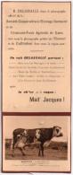 """Publicite Delassalle Caen , 14 Mesnil-mauger , """"martine """" Laitiere Normande De M .henri.lepetit - France"""