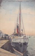 Cpa (colorisée)-50-st Vaast La Hougue-le Steamer B.F.- - Saint Vaast La Hougue