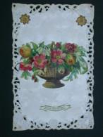 Ref4294 JU CPA Dentelée Fantaisie - Bonne Fête Voeux De Bonheur - Collages - Fancy Cards