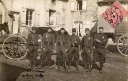 CPA 1430 - MILITARIA - Carte Photo Militaire -  Groupe De Soldats D´ Infanterie à NANCY - Personnages