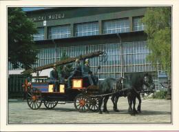 Tehnical Museum Zagreb - Fire Truck (Firemen), Croatia (S-11404) - Buses & Coaches