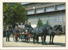 Tehnical Museum Zagreb - Fire Truck (Firemen), Croatia (S-11402) - Buses & Coaches