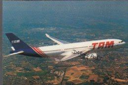 Airbus A330- 200 TAM Airlines A 330 Aircraft Aviation A-330 Transportes Aéreos Meridionais Brasil - 1946-....: Era Moderna