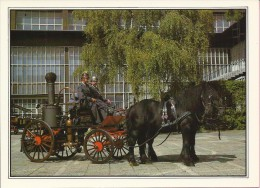 Tehnical Museum Zagreb - Steam Fire Truck (Firemen), Croatia (S-11403) - Buses & Coaches