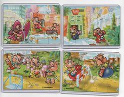 Ferrero - Puzzle Pinky Piggys Con Cartina E Custodia Rigida (un Settore) - Puzzles