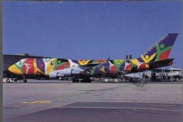 Boeing B 747-312 Aviation South African Airwais Ndizani B-747 Aereo Avion B.747 Aircraft B747 - 1946-....: Moderne