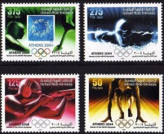United Arab Emirates 2004 Games Of The XXVIII Olympiad Athens MNH SET UAE - Summer 2004: Athens - Paralympic